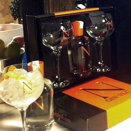 Gin-geschenkverpakking