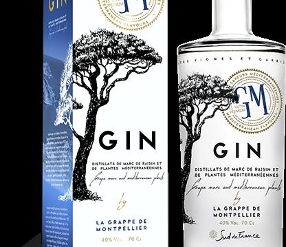 GM Gin: La Grappe de Montpellier